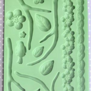 Flora Silicone Mould
