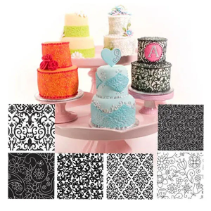 Floral Texture Sheets (6 pack)