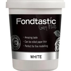 Fondtastic RTU (Ready To Use) Gumpaste White